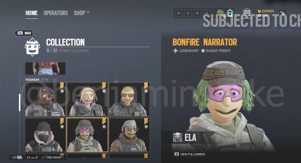 ELAのヘッドギア