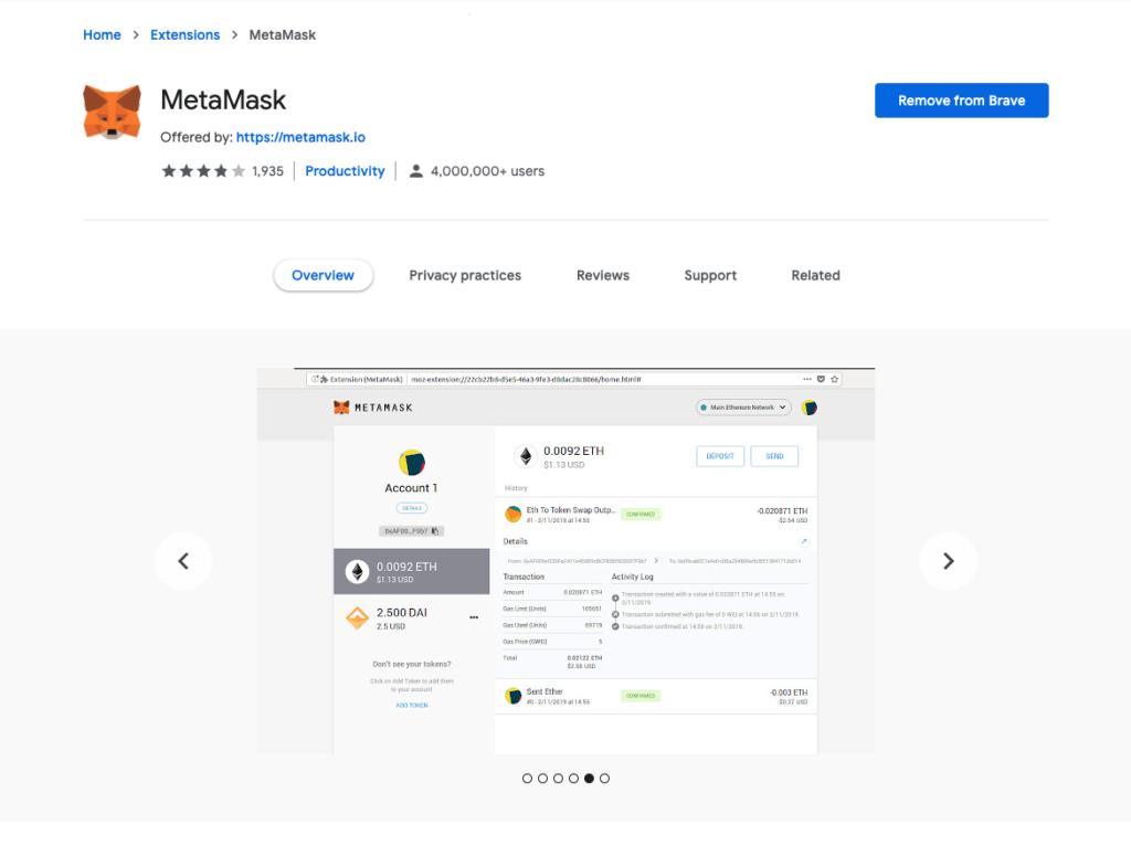 MetaMask Extension